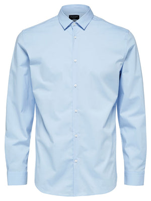 Selectedhomme slimpreston light blue