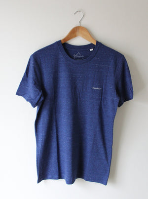 Messieur t-shirt city blue