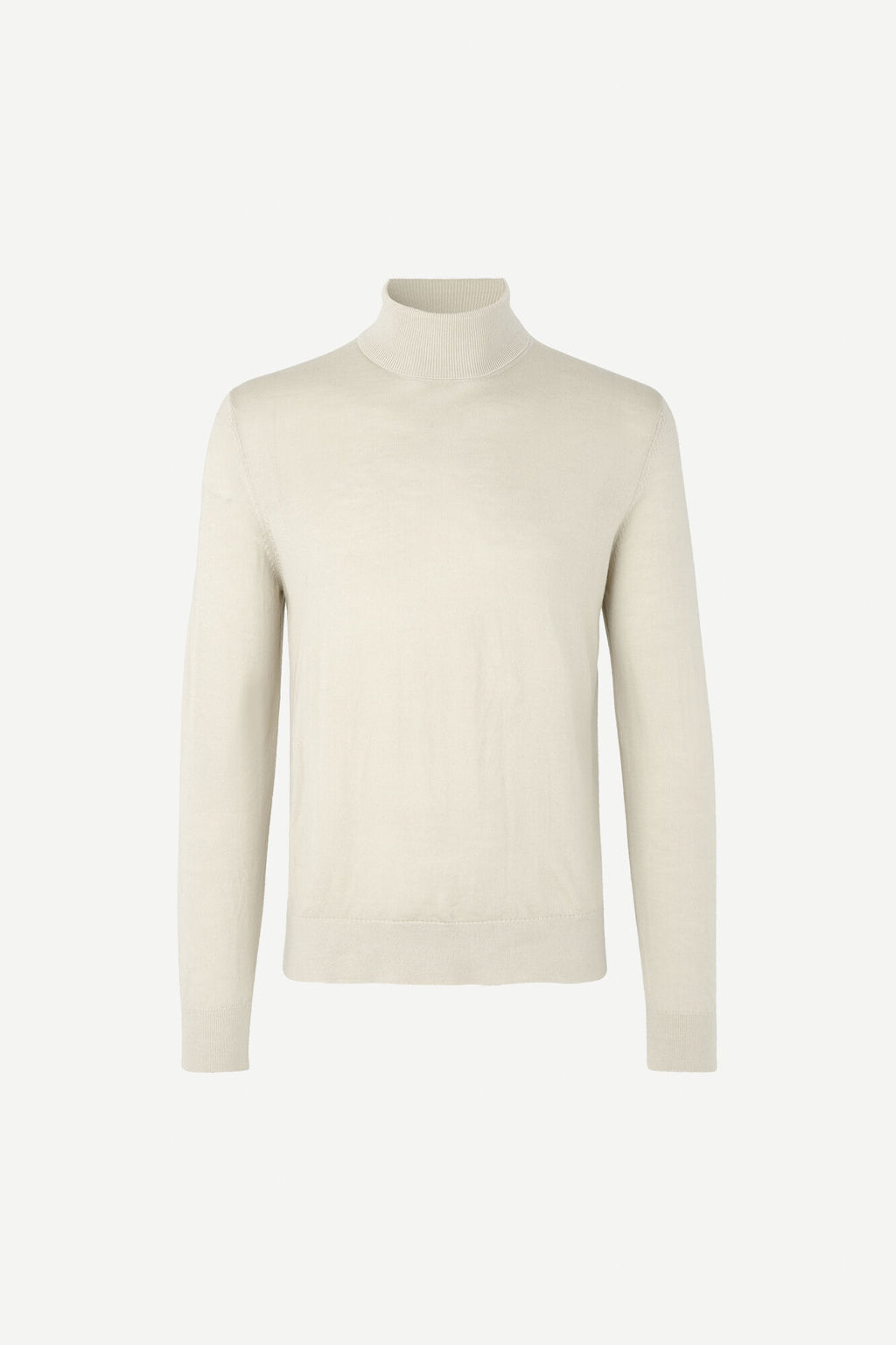 Samsoe samsoe flemming turtle neck clear cream