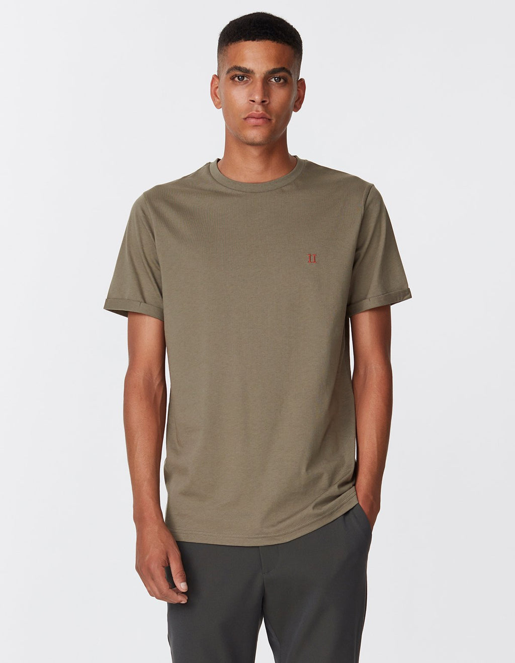 Les deux norregaard t-shirt turtle green orange