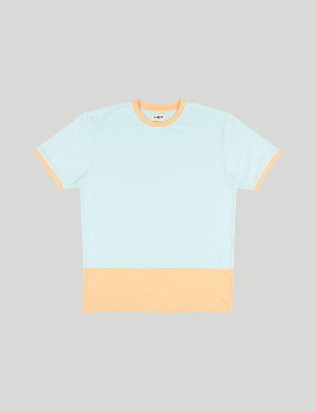 Castart bunny's ear t-shirt light blue