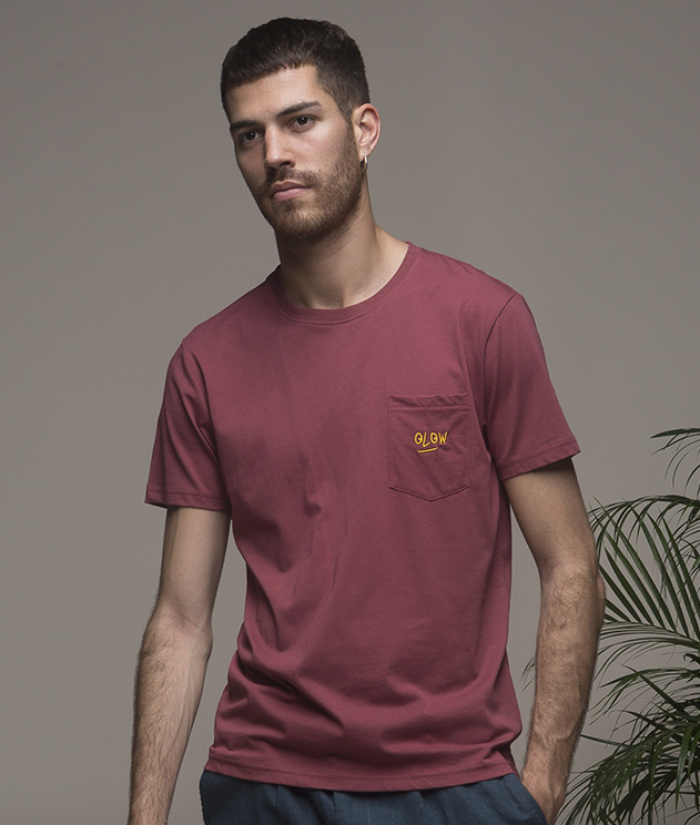 Olow tee shirt alex bordeaux