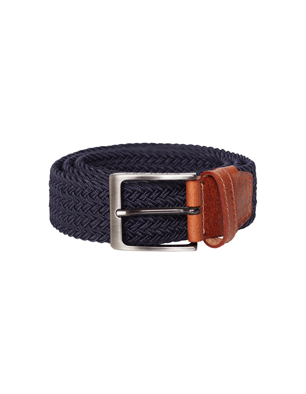 Les deux walker webbing belt dark navy