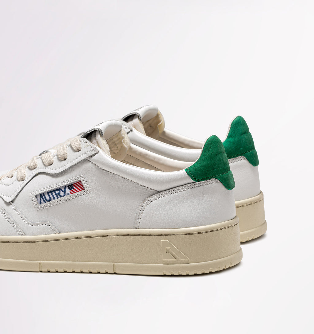 Autry sneakers leather nubuck white amazon