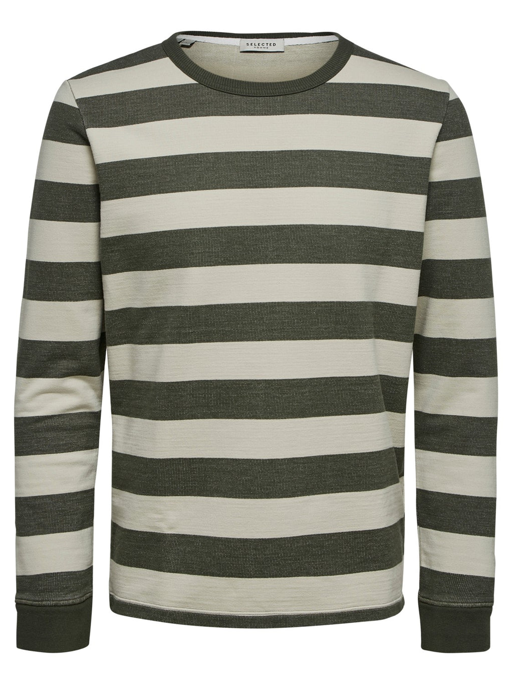 Selectedhomme dylan stripe sweat beetle