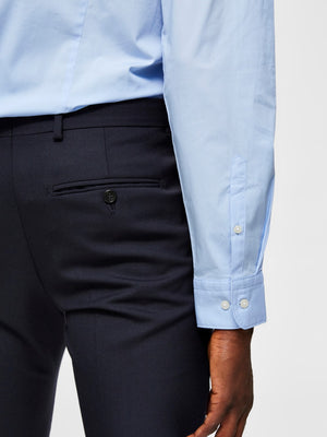 Selectedhomme slimmichigan shirt light blue