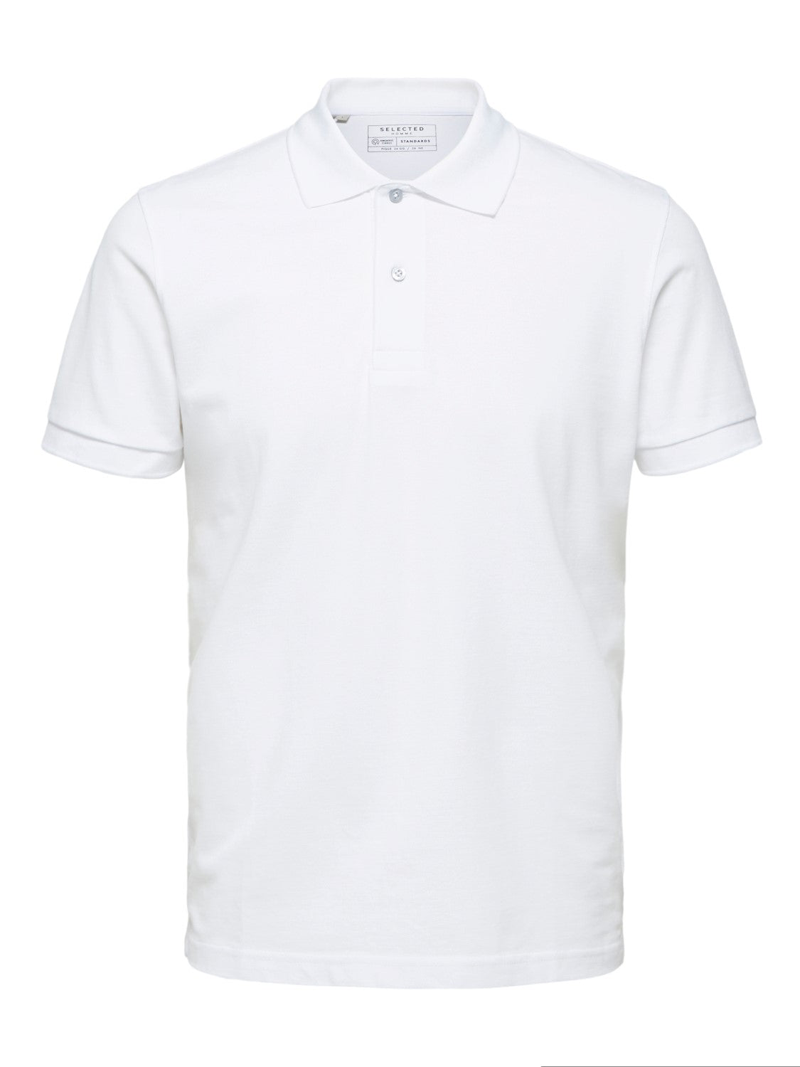 Selectedhomme neo polo bright white