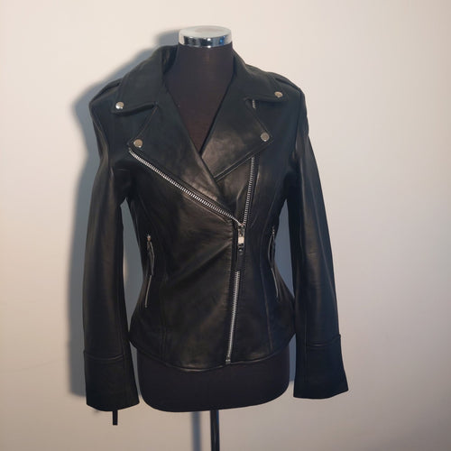 Guinea Black Leather Jacket