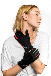Miss Sparrow Agnes Gloves in Black