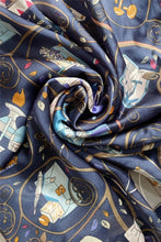 Load image into Gallery viewer, Stylish Handbag Print Silk Scarf