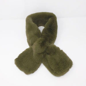 Tilly and Grace Abigail Faux Fur Scarf