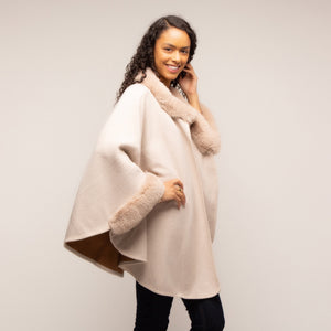 Tilly and Grace Anneka Cape - Cream