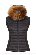 Load image into Gallery viewer, Guinea Down Filled Gilet - Black