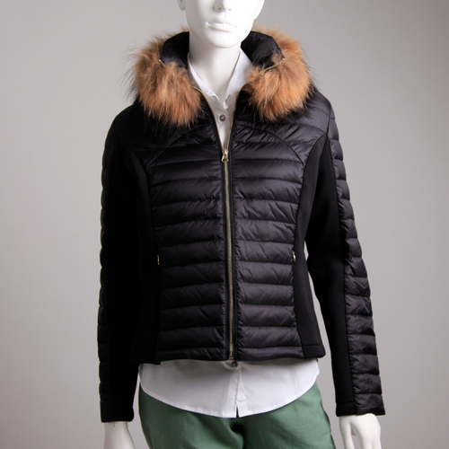 Guinea London Fur Collar Jacket