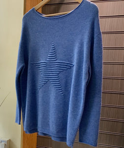 Star Feature Jumper – Variety of Colours