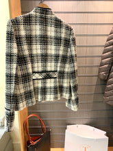 Load image into Gallery viewer, Baroloche Woven Tweed Jacket Black/White