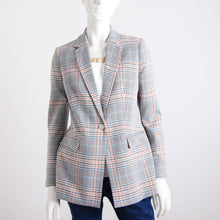 Load image into Gallery viewer, Bariloche Checked Long Line Jacket