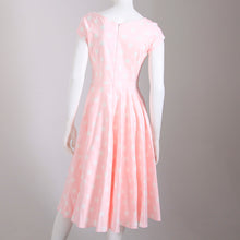 Load image into Gallery viewer, The Pretty Dress Company Hourglass Polka Dot Swing Dress - Pink
