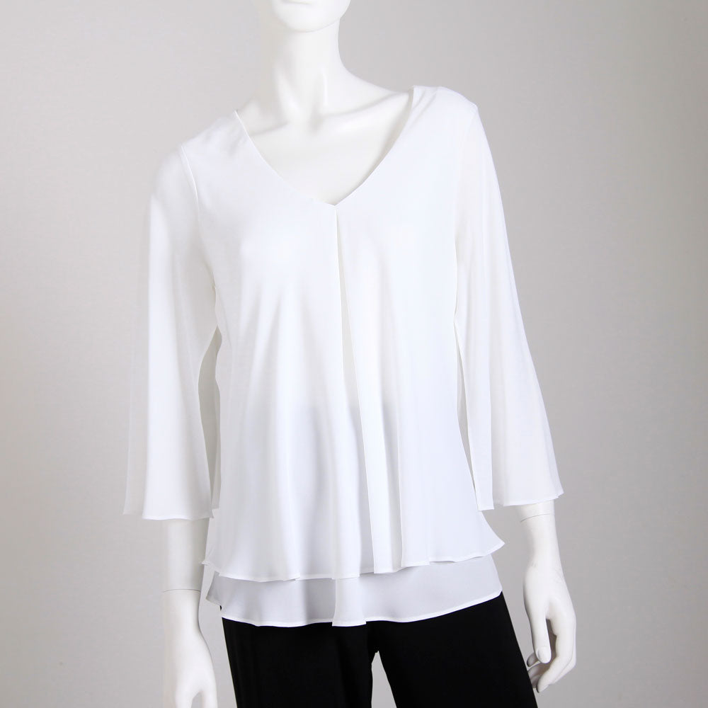 Frank Lyman Tunic Blouse - Off White