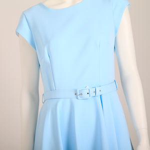 Pretty Dress Company – Sadie Midi Dress – Pale Blue