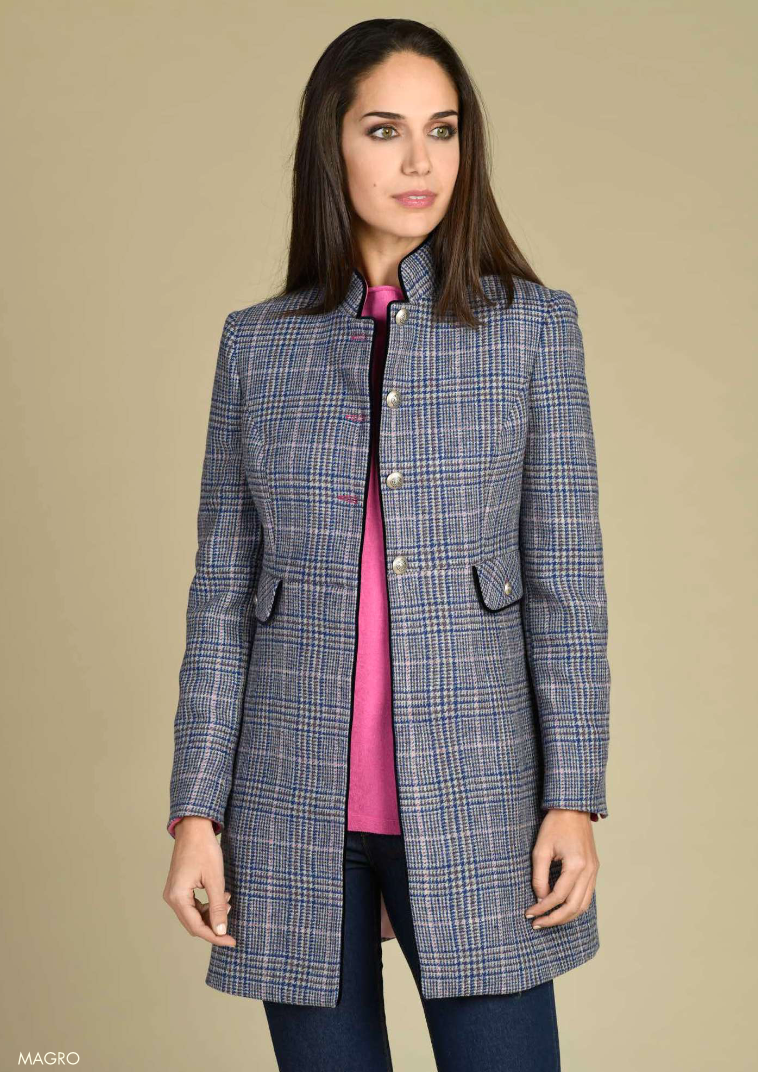 Tinta Magro Blue Check Jacket
