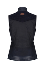 Load image into Gallery viewer, Welligogs Roxy Navy Wax Gilet