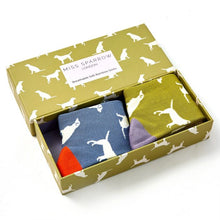 Load image into Gallery viewer, Miss Sparrow Labradors Socks Box
