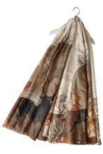 Load image into Gallery viewer, Woodland Stag Print Silk Scarf