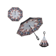 Load image into Gallery viewer, Superbia Upside Down Print Umbrella - Various