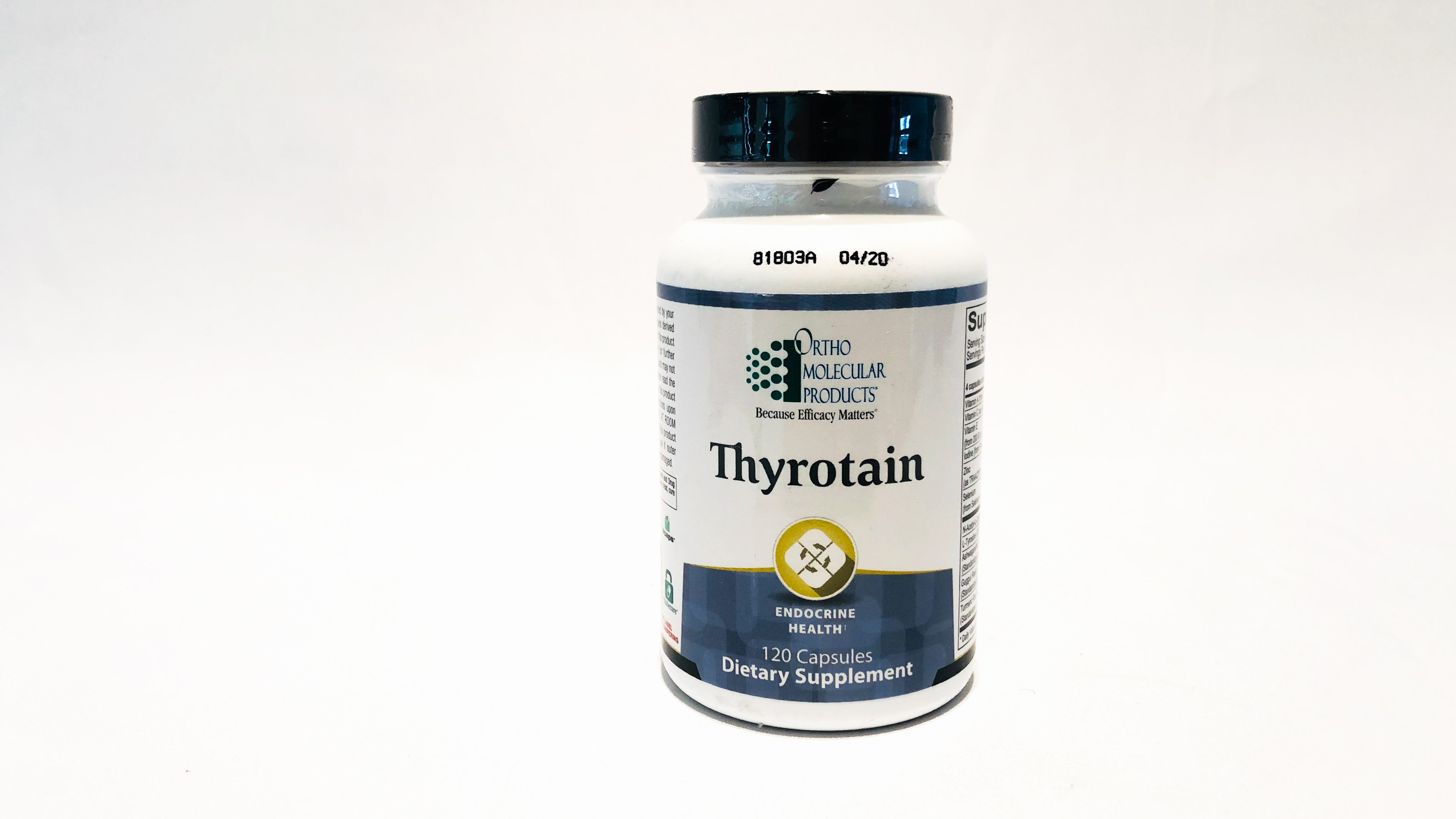 Thyrotain- Improve the condition of your thyroid function.