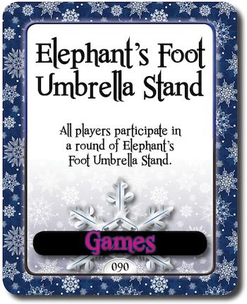 Completely new How to Play Elephant's Foot Umbrella Stand | The Christmas Game BZ63