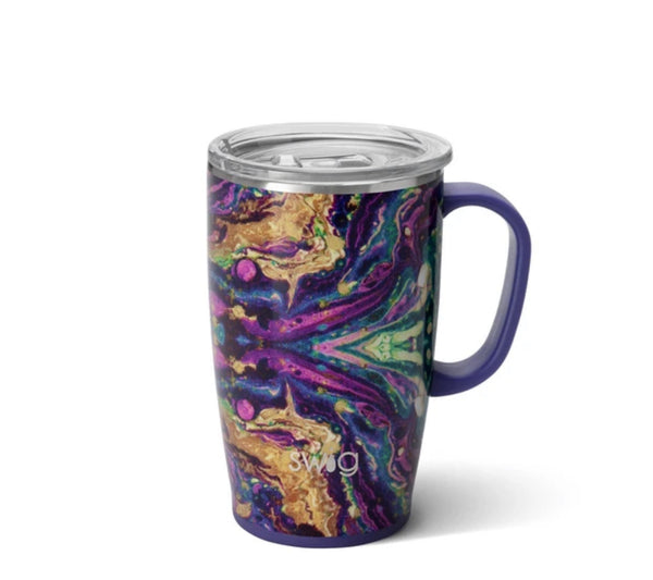 "Swig ""Purple Rain"" Travel Mug (18oz)"
