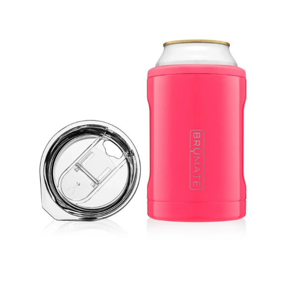 Brumate HOPSULATOR Duo 2 In 1 In Neon Pink