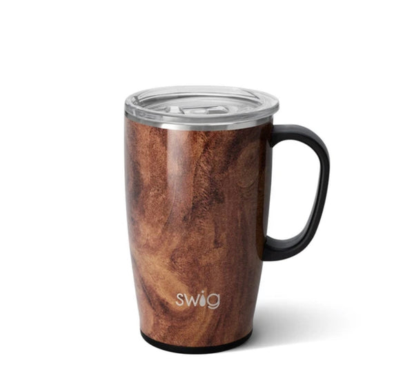 "Swig ""Black Walnut"" Travel Mug (18oz)"