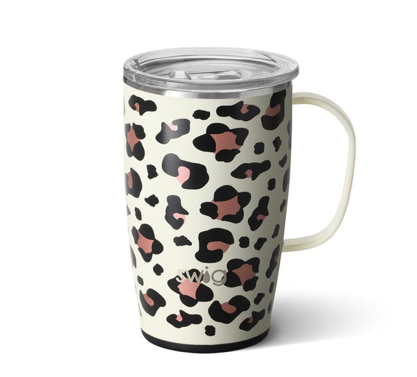 "Swig ""Luxy Leopard"" Travel Mug (18oz)"