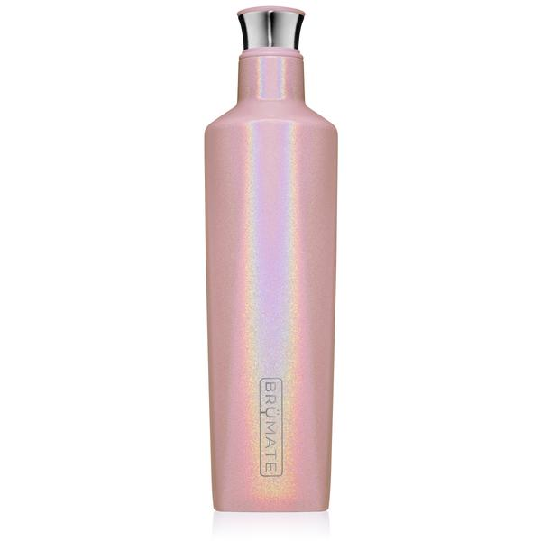 Brümate Fifth Liquor Canteen 25oz in Glitter Blush