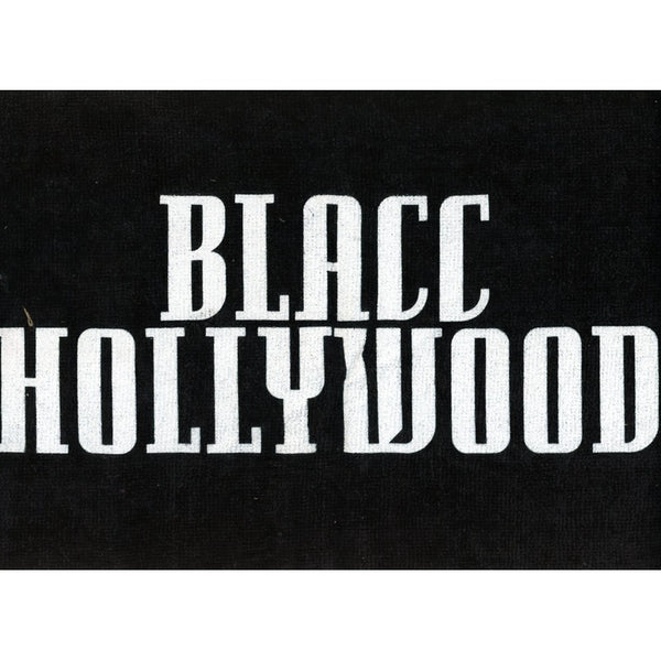 Blacc Hollywood towel