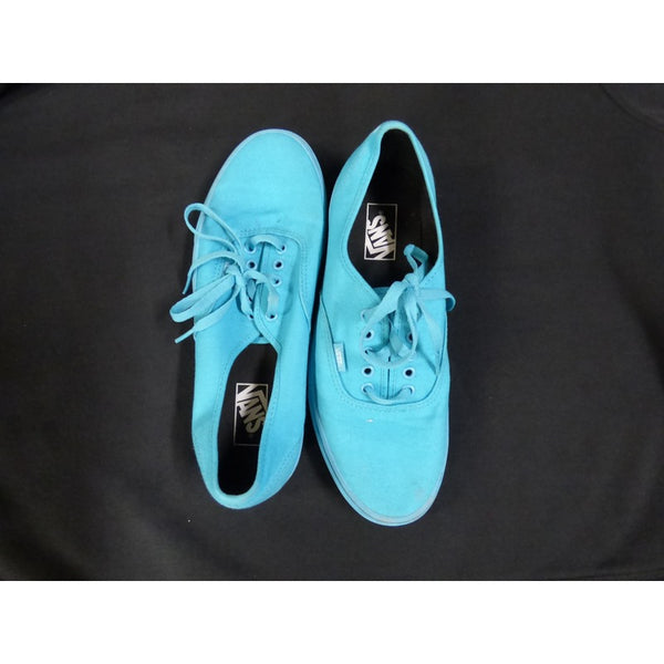 Vans Teal Low Tops