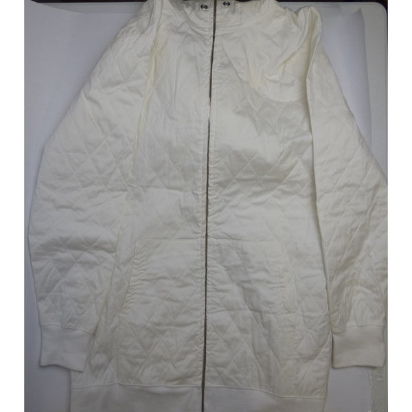 White Hooded Jacket w/Dice