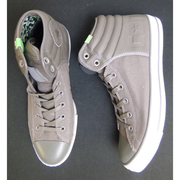 WK Grey Converse Chuck Taylor All Star High Tops