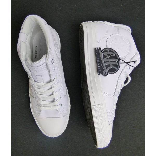 WK White Converse Chuck Taylor All Star High Tops | The Wiz Vault