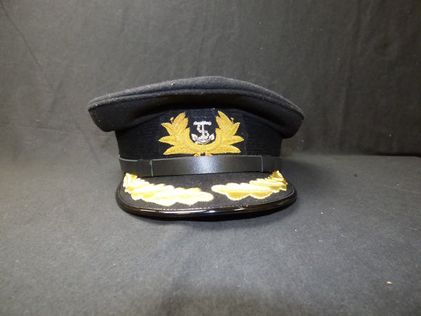 Blue Nautical Captain Hat