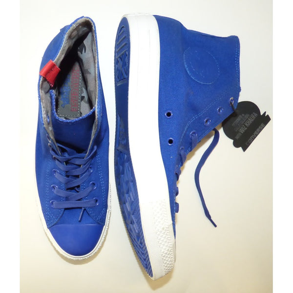 WK Blue Converse Chuck Taylor All Star High Tops