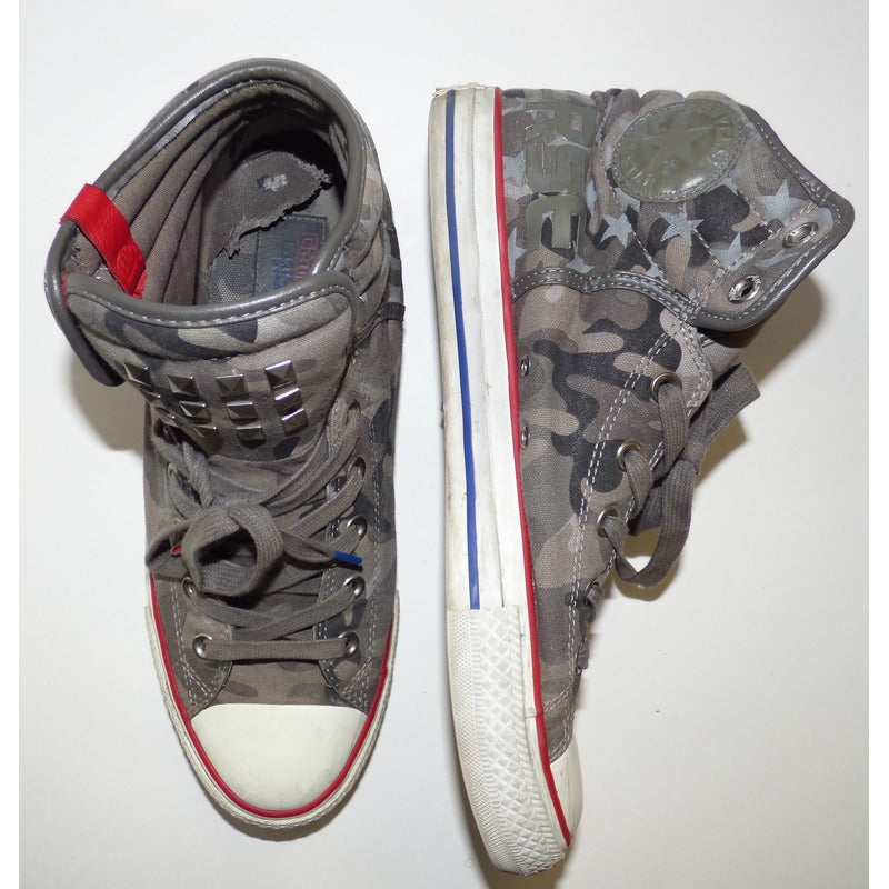 WK Camo Converse Chuck Taylor All Star High Tops | SNEAKERS | The Wiz Vault