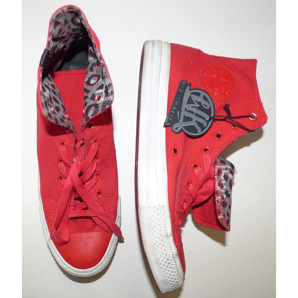 WK Red Converse Chuck Taylor All Star High Tops