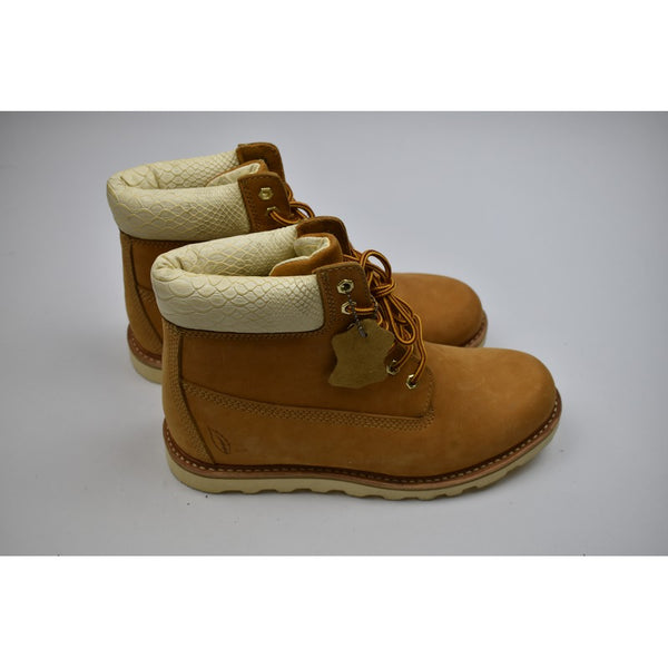 Brown Boots w/ Wht Interior