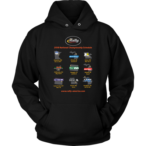 Rally America 2018 Series Event Hoodie