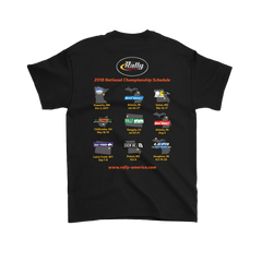 Rally America 2018 Series Event T-Shirt