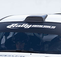 Rally America Windshield Banner