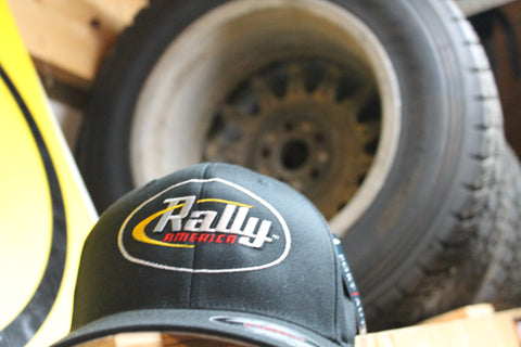 Rally America Logo Flexfit Hat